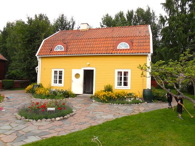 Astrid Lindgrens Welt Schweden, Krachmacherstraße Lottas Haus