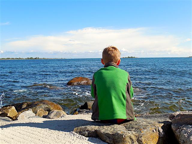 Schwedentipp, Schäreninsel Hasslö, am Hafen