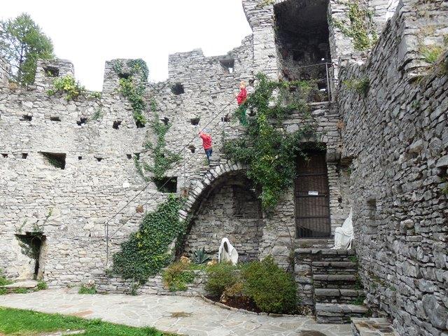 Castello di Vezio - Urlaub mit Kindern