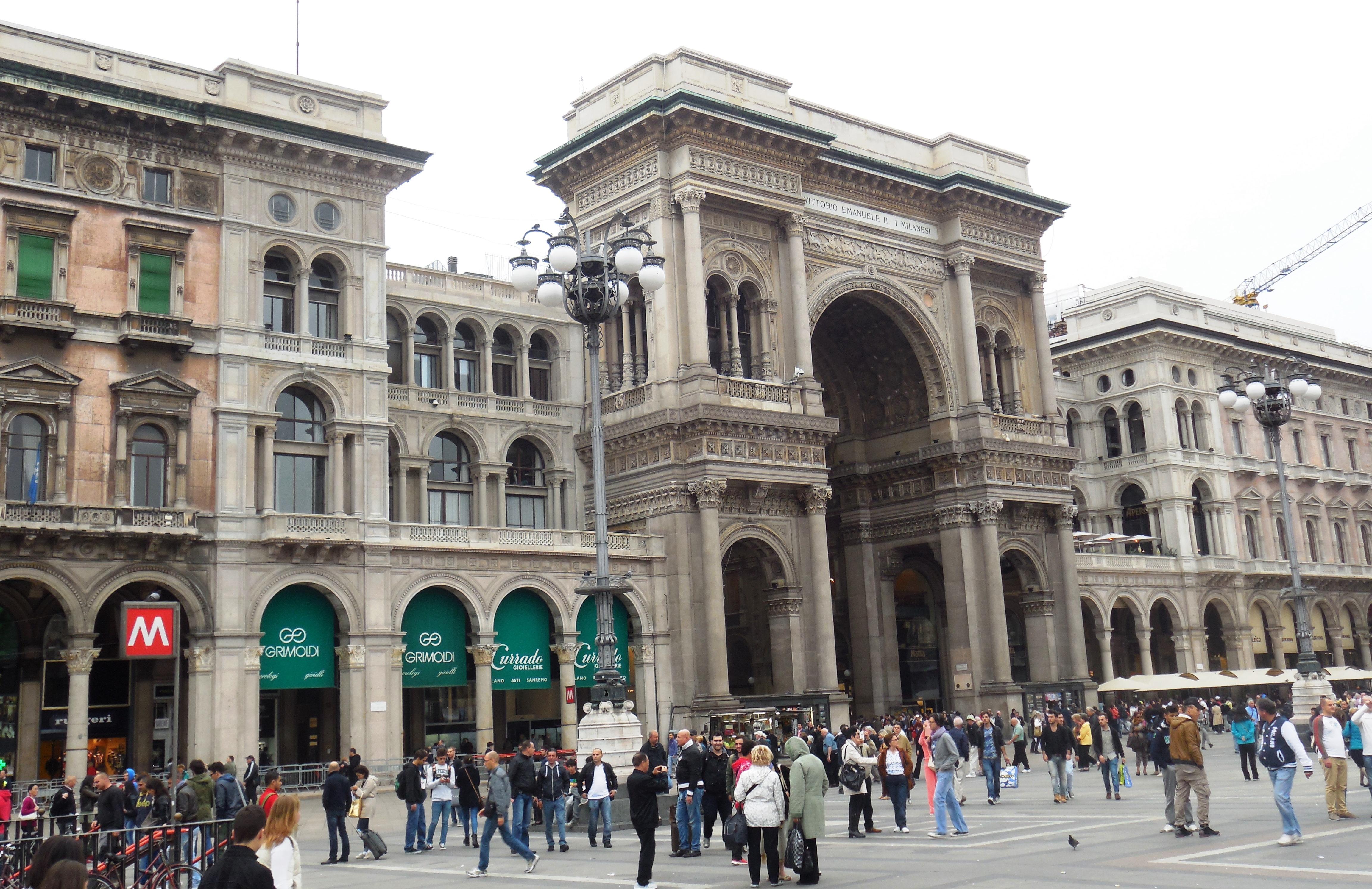 Mailand mit Familie