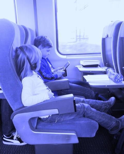 Familienurlaub mit der Bahn
