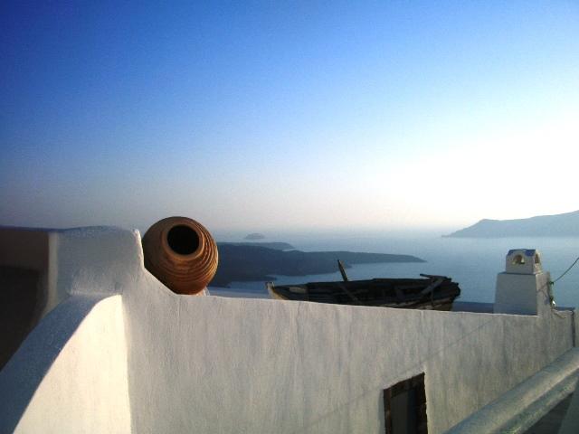 Familienurlaub auf Santorini