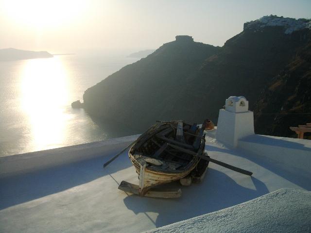 Santorinireise mit Kind