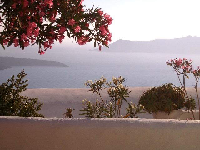 myfamilyontour auf Santorini
