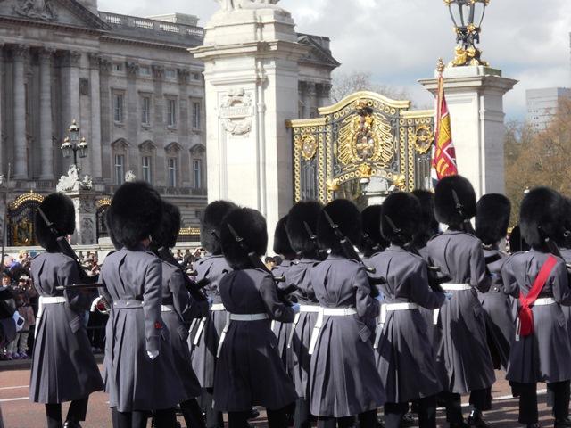 Wachablösung Buckingham Palace
