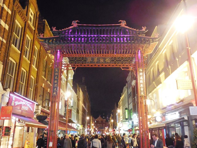 China Town London - Reisen mit Kind