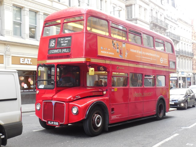 Doppeldeckerbus Oldtimer in London