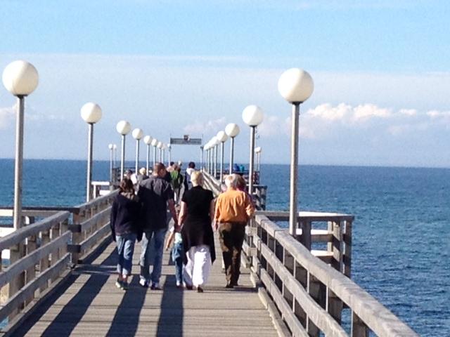 Seebrücke Heiligendamm, Ostsee