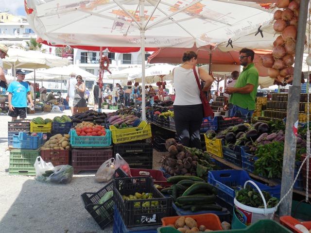 Markt in TinosStadt