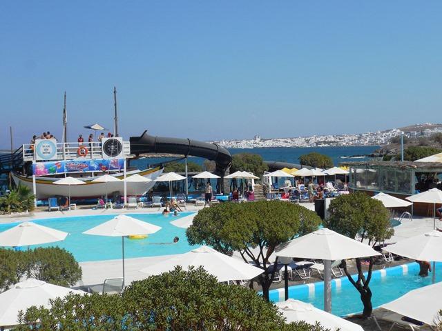 Wasserpark Insel Paros, Kykladen