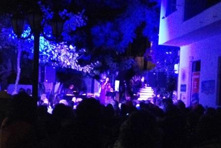 Maria Farantouri Konzert auf Tinos