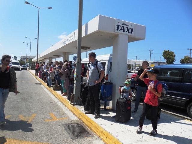 Ankunft auf Mykonos