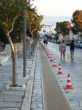 Pilgerweg auf Tinos