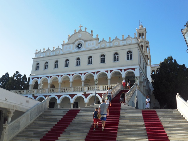 Panagia Evangelistria_Pilgerkirche Tinos