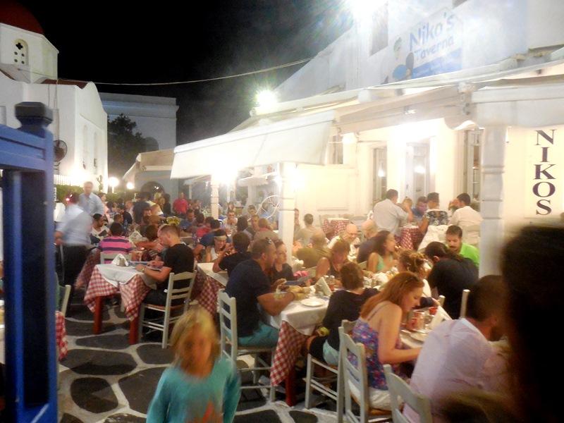 Taverne Nikos_Pelikan Mykonos