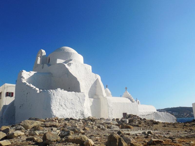 Mykonos Kirche Paraportiani