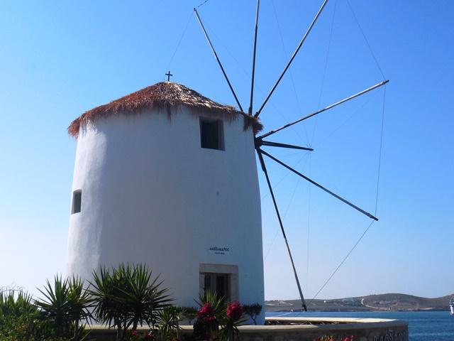 Parikia Paros, Windmühle