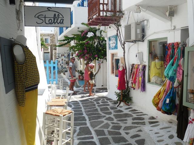 Naoussa, Paros, Kykladen