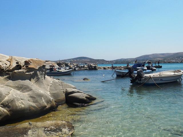 Kolimbithres Strand auf Paros