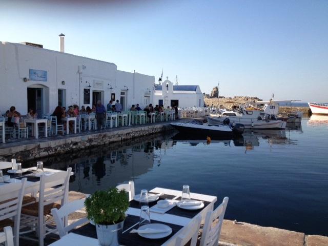 Hafenbereich Naoussa Paros
