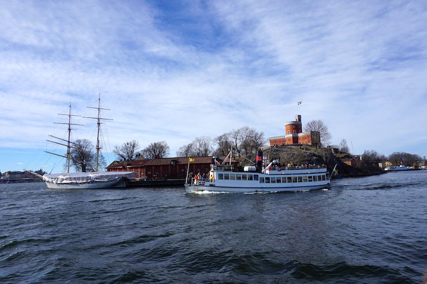 STOCKHOLM, Fähre Slussen Djurgarden