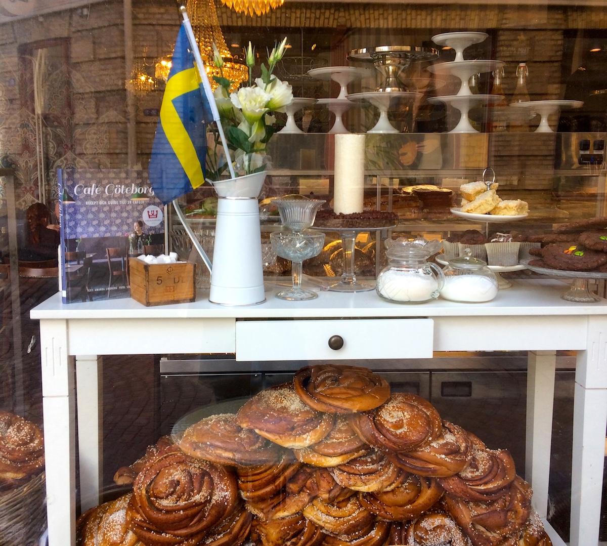 Zimtschnecken Cafe Husaren Göteborg