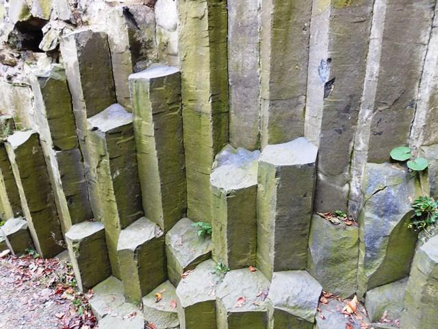 Säulen_Basalt_Burg Stolpen