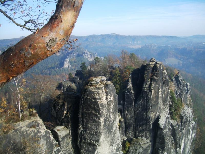 Wanderung zur Bastei