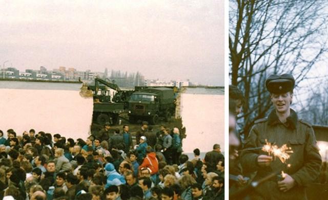 Maueröffnung 1989 Berlin