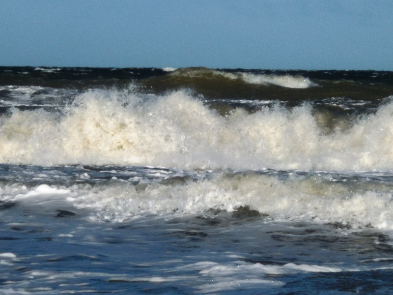 Wellengang an der Ostsee