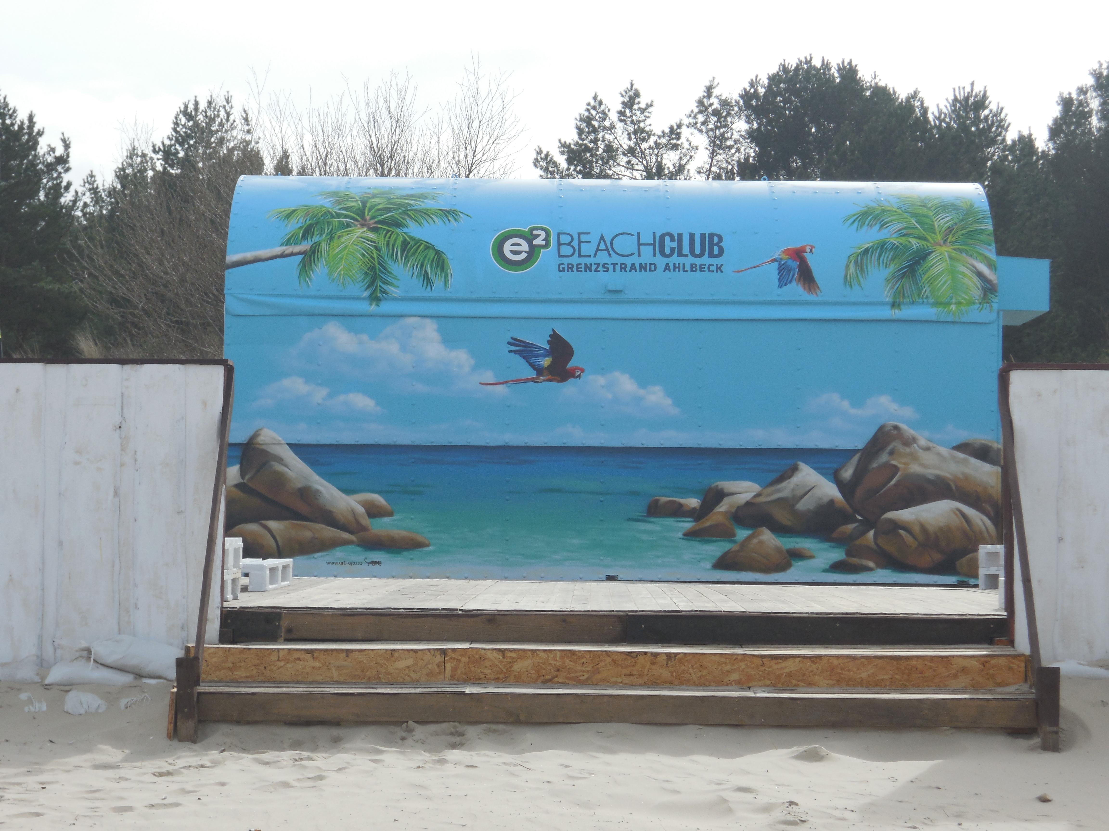 Grenze Strand Usedom