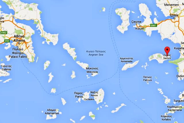 Griechenlandkarte_Samos