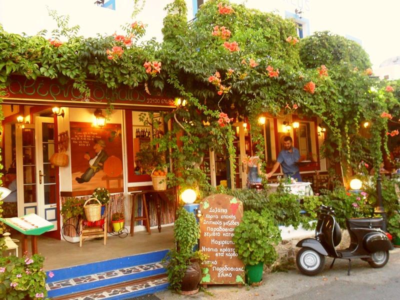 Taverna in Zia auf Kos
