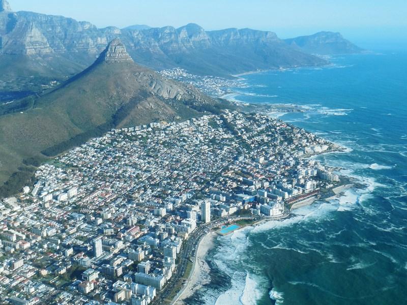 Südafrika, Kapstadt von oben