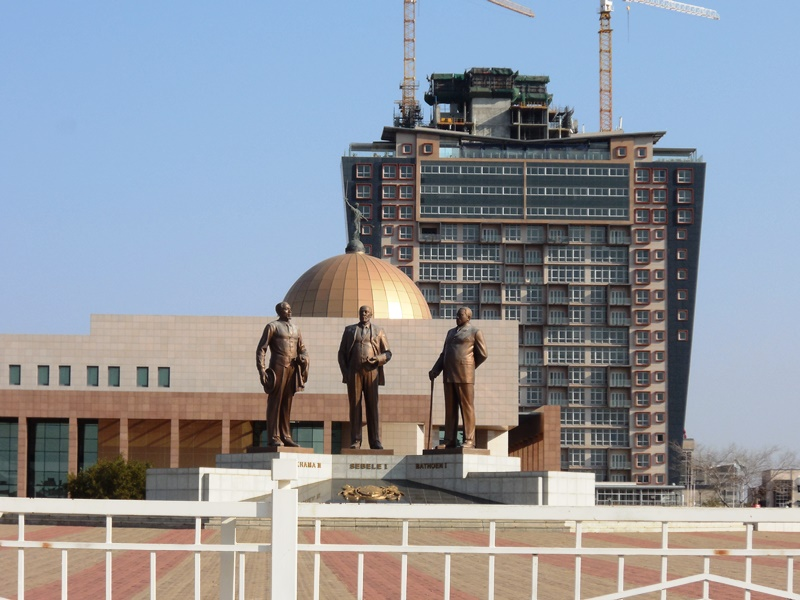 Gaborone_Three_Dikgosi_Monument_Botswana