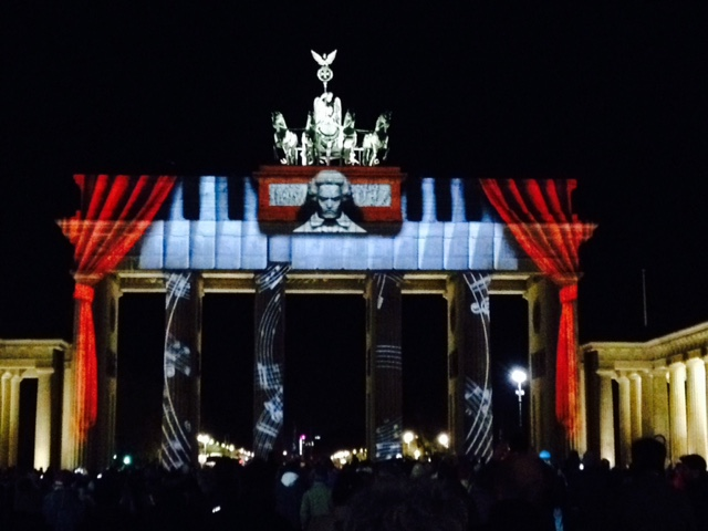 Brandenburger Tor Festival of Lights 2015 Berlin