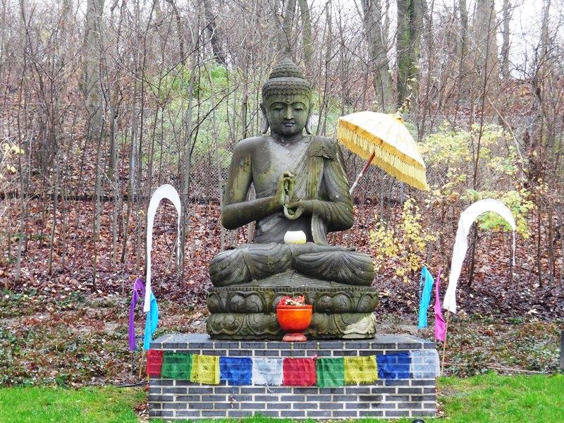 Budha im Vabali Spa Berlin