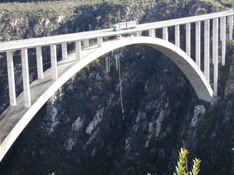 Welthöchste Bungy Bridge Bloukrans