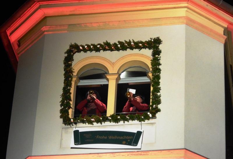 Turmbläser Weihnachtsmarkt Liebenberg