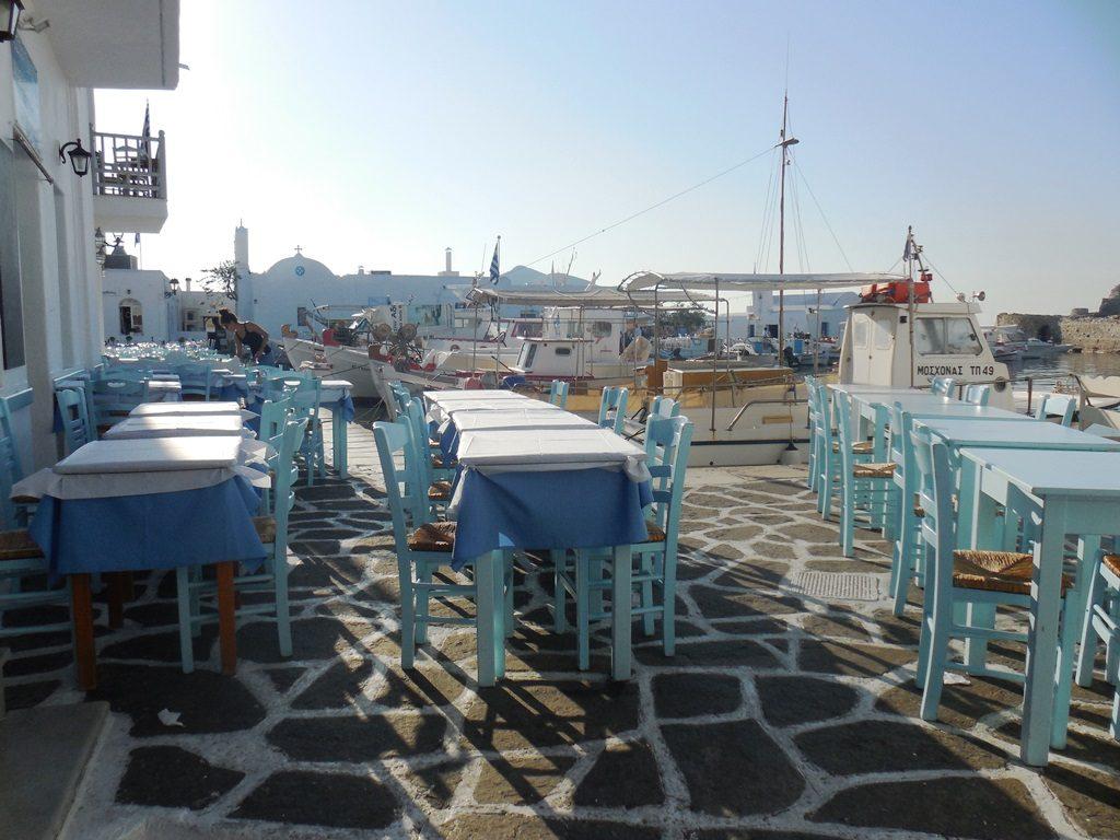 Hafen von Naoussa_Paros Kykladen