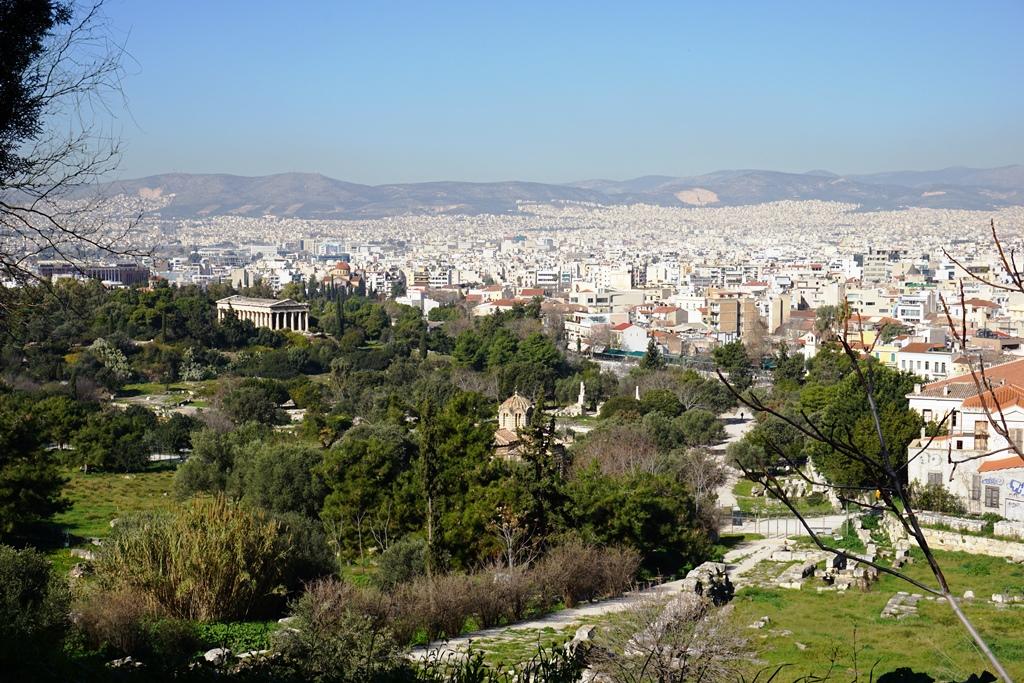Athen_Blick auf die antike Agora