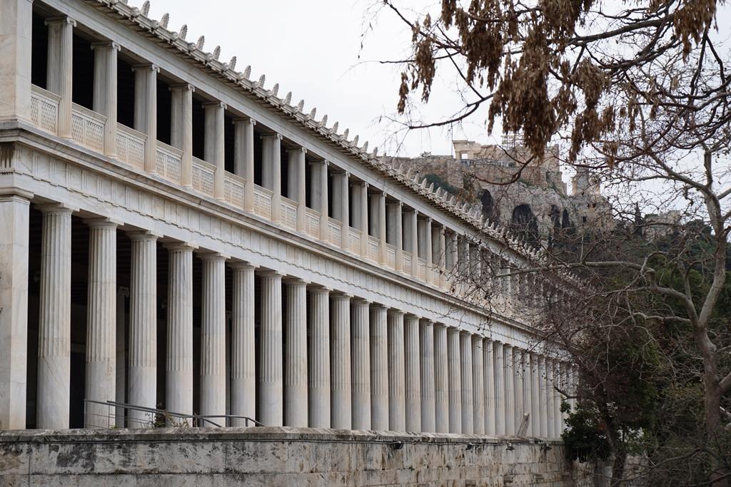 Athen_Blick auf die Agora