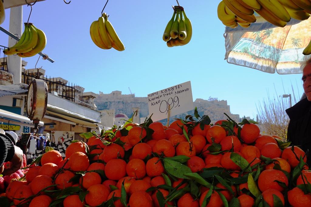 Monastiraki-Platz Athen