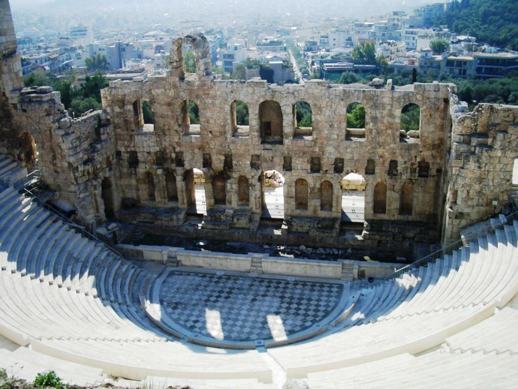 Athen_Odeon des Herodes Atticus
