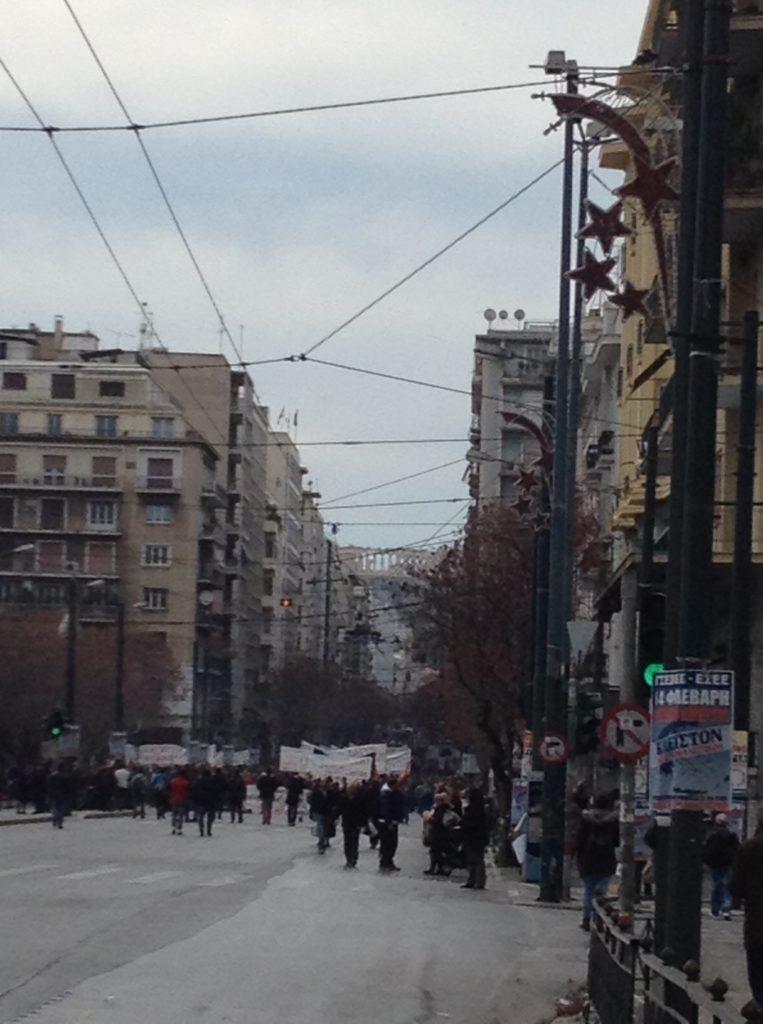 Generalstreik_Athen_2016
