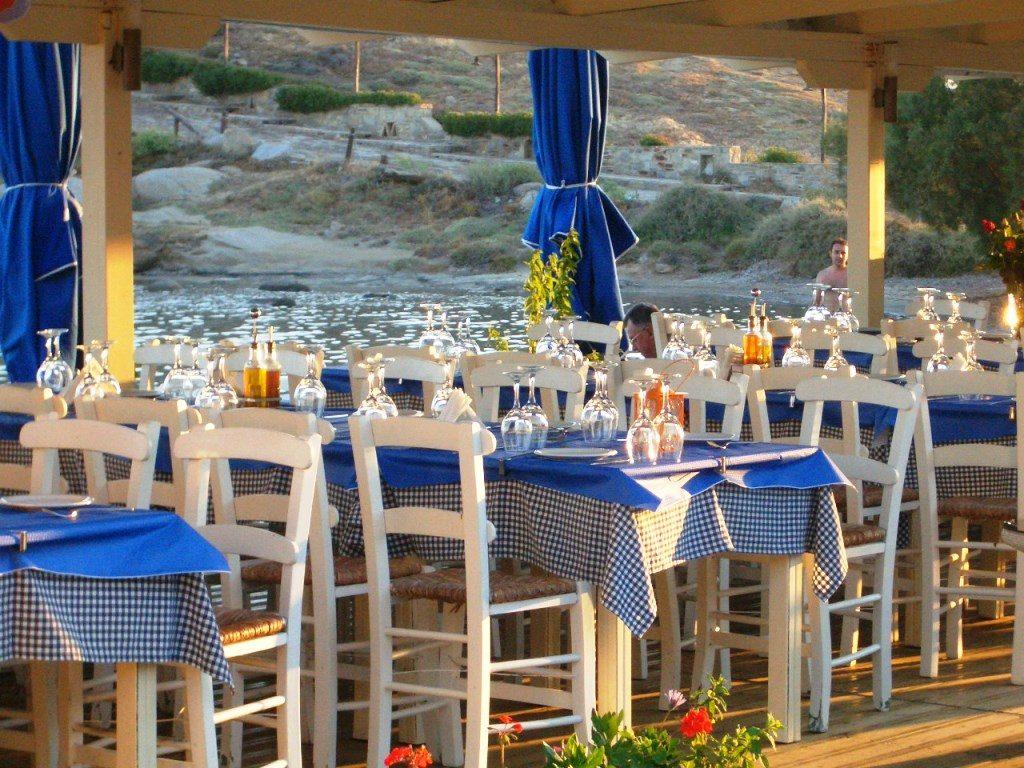 Strandtaverne Naxos Kykladen