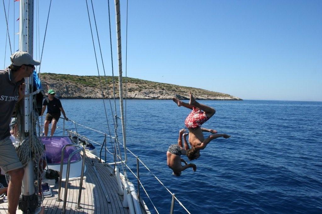 Kykladen Segeltörn Naxos - Paros
