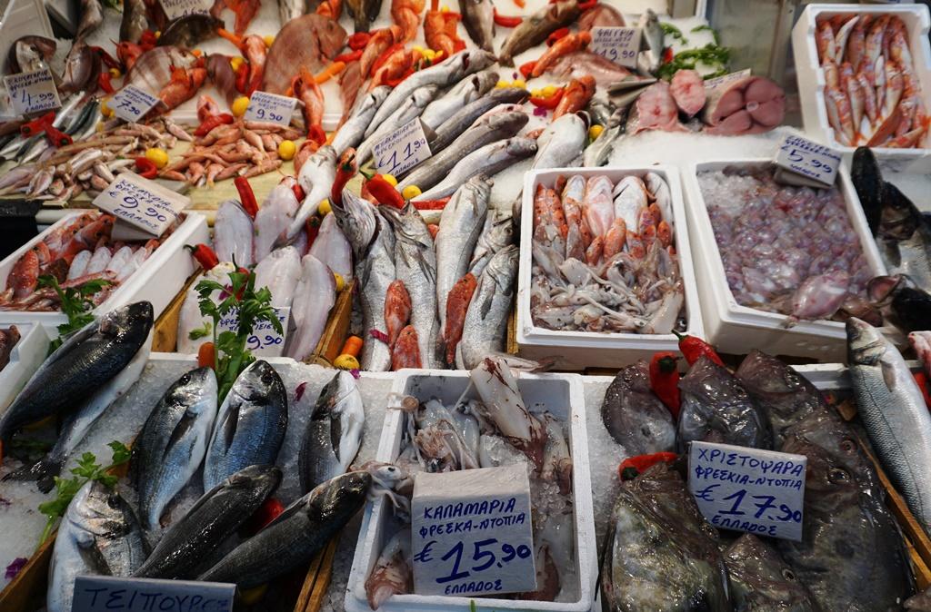 Zentralmarkt_Athen_Fischmarkt
