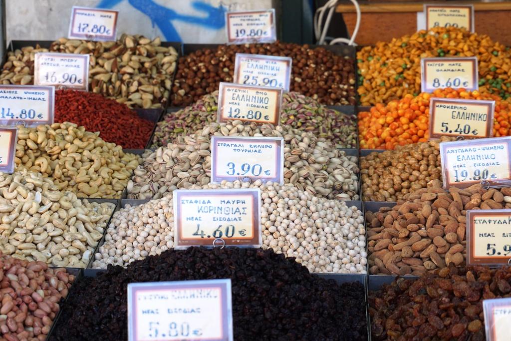 Zentralmarkt_Athen_Gwürze