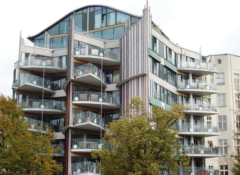 Kulinarischer Stadtrundgang Berlin-Schöneberg , Architektenhaus von Hinrich Baller
